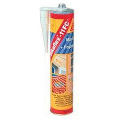 Masilla sellado y pegado base poliuretano sika marron 3214802353 300 ml