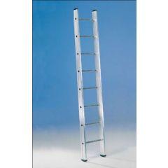 Escalera industrial 1 tramo 14 peldaños 4,10mt aluminio svelt
