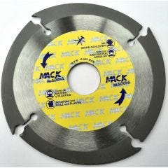 Disco corte tronzador madera 115 mm macodiam