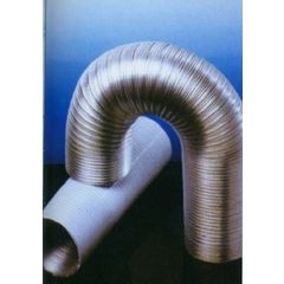 Tubo extraccion aire compacto 120mmx5mt aluminio blanco alu espir espiroflex 5 mt 02310120300