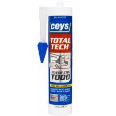 Adhesivo sellador polimero ceys blanco 507216 290 ml