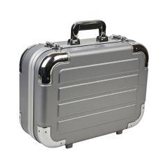 Maleta herramientas reforzada 460x340x170 mm aluminio especial lujo cody