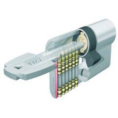 Cilindro seguridad leva larga 40x40mm laton t6554040l tesa t6554040l