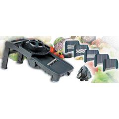 Mandolina cocina 5 cuchillas regulador grosor lacor 60331