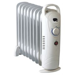 Radiador electrico aceite mini 09 elementos 1000w vivahogar