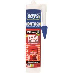 Adhesivo montaje cartucho 290 ml montack express ceys