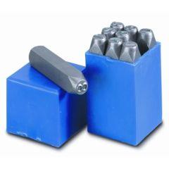 Numeracion golpe 6 mm acero nusac