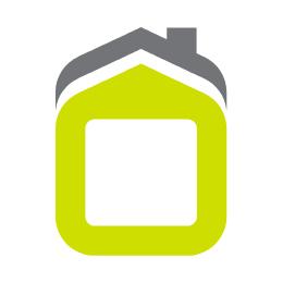 Escalera domestica barandilla alta 5 peldaños 1,10mt acero blanco vervi