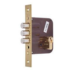 Cerradura madera embutir canto cuadrado 23x50mm bicapa 811803030bc yale