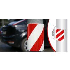 Protector aparcamiento columna 390x320x10mm dicoal