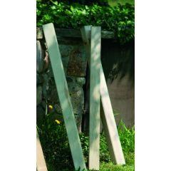 Poste cercado cuadrado 9x9x80cm madera nortene 408008
