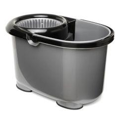 Cubo agua escurridor automatico tatay gris twister rectangular 1103700