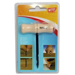 Barrena carpintero 3mm wuto ma mango madera corte vaciado nº1,5 mango madera 7402 bl