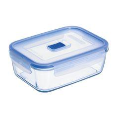 Hermetico alimentos rectangular 19x13x7cm cristal luminarc 9207677