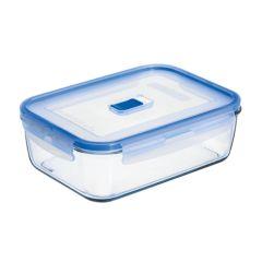 Hermetico alimentos rectangular 22x16x7cm cristal luminarc 9207678