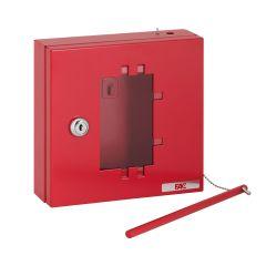 Caja emergencia llave 170x17050mm rojo fac