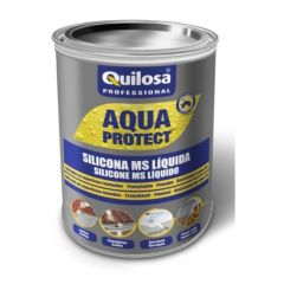 Silicona liquida impermeable quilosa blanco 49270 5 kg