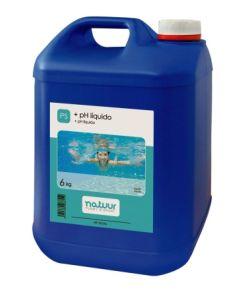Elevador ph piscina liquido natuur 6 kg nt100242