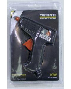 Pistola encolar termofusible con gatillo nivel nv100690