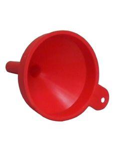 Embudo trasvase liquidos pico rigido sin filtro 23,5cm plastico mato iberica, s.
