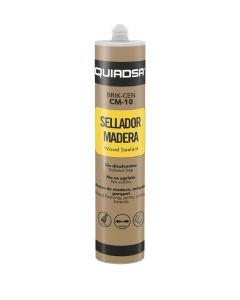 Sellador acrilico madera roble 300 ml quiadsa  co  101825