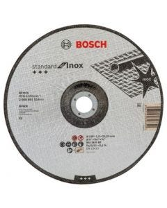 Disco corte inox concavo 230x1,9x22,23mm standard bosch accesorios