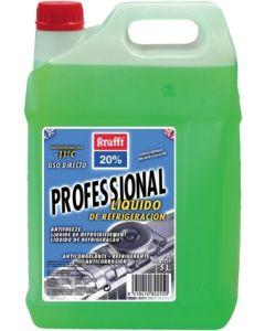 Anticongelante coche refrigeracion inorganico 5lt -11º verde krafft