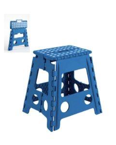 Taburete multiusos 290x390x220mm plastico azul arregui