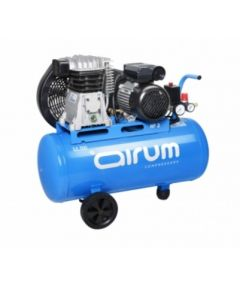 Compresor correas 2 cv 9 bar con aceite 50lt-225lt/m airum 102869
