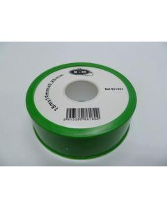 Teflon fontaneria alta densidad 19mmx0,2mmx15mt ptfe blanco saneaplast