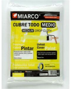 Plastico protector medio 04 mtx05mt cubretodo miarco