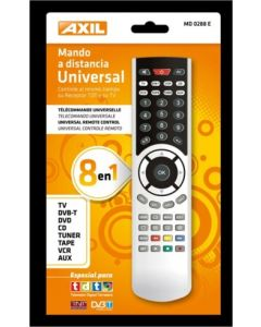 Mando television universal axil md 0288 e
