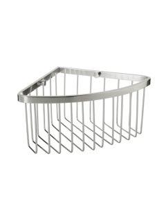 Cestillo baño rinconera 27x20,5x11,3cm aluminio brillante tatay 6604100