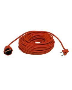 Prolongador electricidad 16a 3x1,5mm 25mt rojo pvc famatel