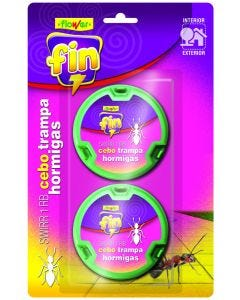 Cebo hormigas 2 pz flower 20536
