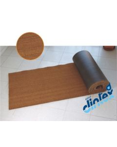 Felpudo decoracion 17mm dintex natural 15 mt 55099
