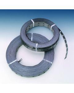 Fleje fijacion perforado 2x50mt espesor 0,7mm metal osyma