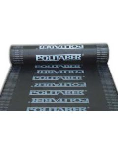 Lamina impermeabilizacion asfaltica betun elastomero membrana bicapa 12mtx1mt chova politaber vel30 31060