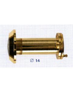 Mirilla puerta 200º 35/55mm dorado pedret xxx10873