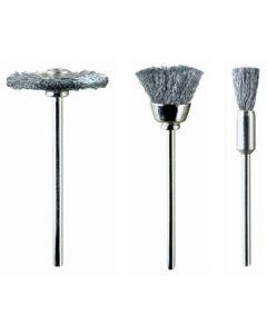 Cepillo industrial circular/taza eje 2,35 mm 21 mm-12 mm m4020 pg mini