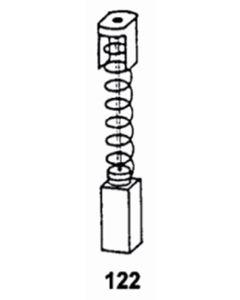 Escobilla herramienta electrica asein aeg/kango/milwaukee 0417j pvc 0417j