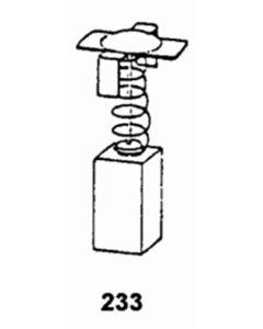 Escobilla herramienta electrica asein hitachi 1796j pvc 1796j