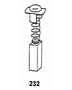 Escobilla herramienta electrica asein hitachi 1923j pvc 1923j