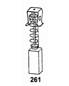 Escobilla herramienta electrica asein makita 0861j pvc 0861j