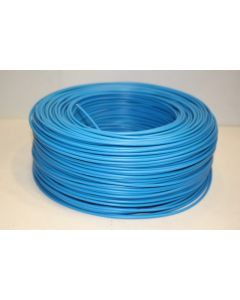 Cable electricidad hilo flexible 750v 1,5mm azul cemi