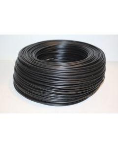 Cable electricidad hilo flexible 750v 1,5mm negro cemi
