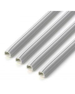 Canaleta electricidad instalacion 10mm-4mt inofix blanco 2201-2+