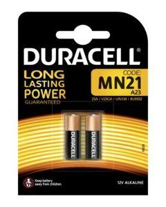 Pila alcalina mn21 mando distancia 12v duracell 2 pz 5000394203969
