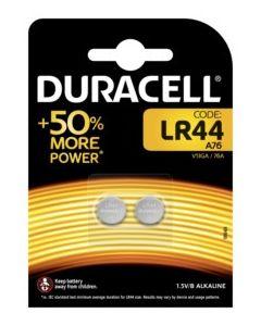 Pila boton lr44 duracell 2 pz 5000394504424