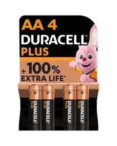 Pila alcalina lr06 aa 1,5v duracell 4 pz 5000394017641